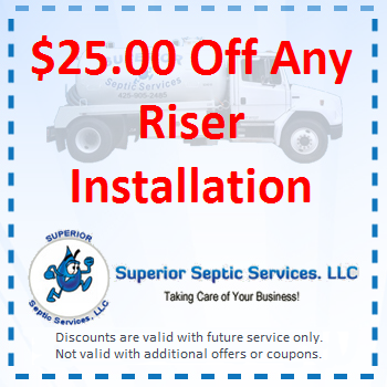 25 Off Any Riser Installation