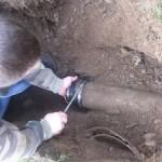 Septic Inlet Repair