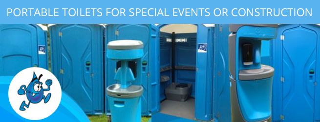 Special Event Portable Toilets in Snohomish, Lake Stevens, Everett, Bothell, Lynnwood, WA