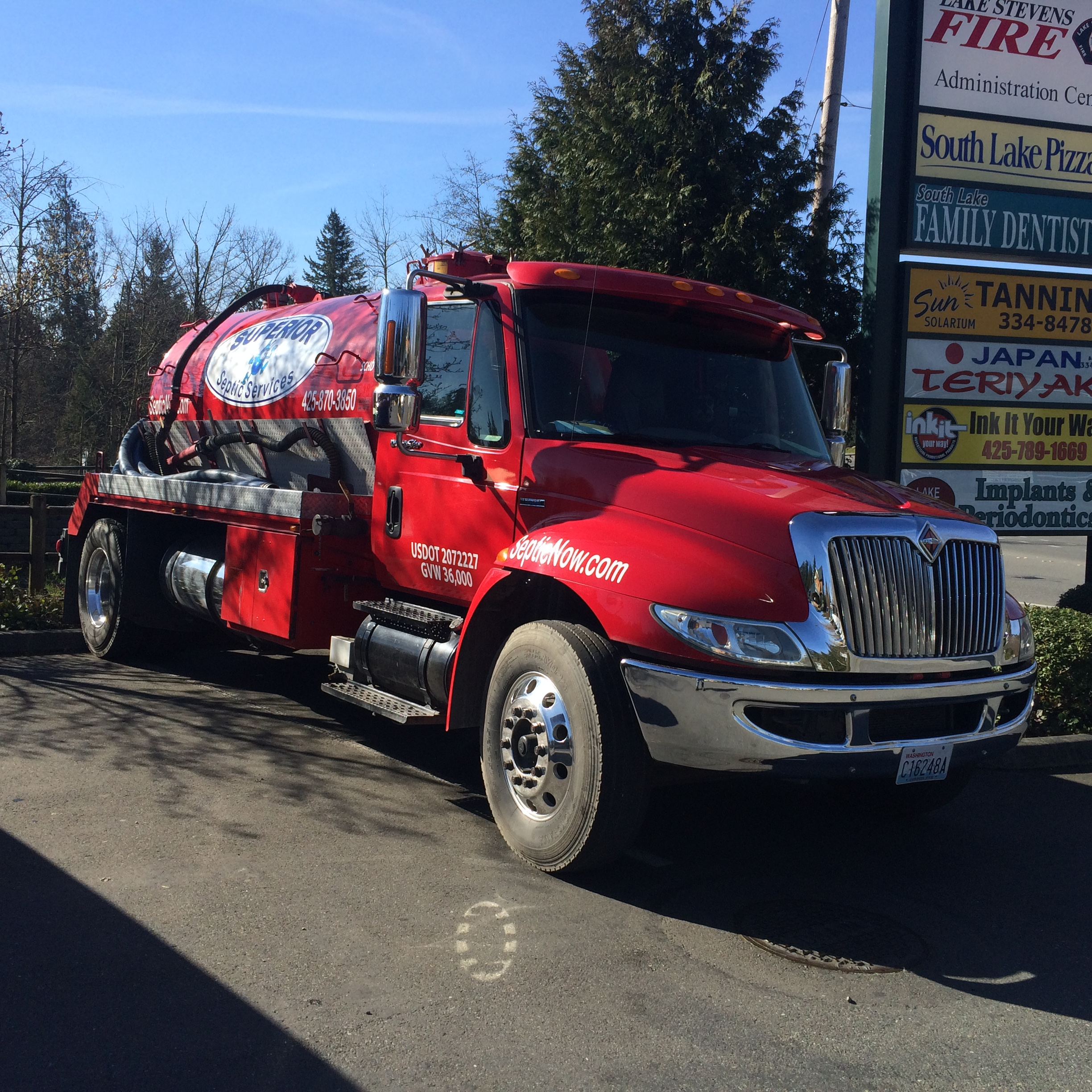 Do I Need A Luxury Portable Bathroom Trailer For My: Septic Repair In Everett, WA
