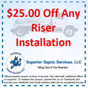 $25 Off Any Riser Installation