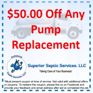 $50 Off Any Pump Replacement