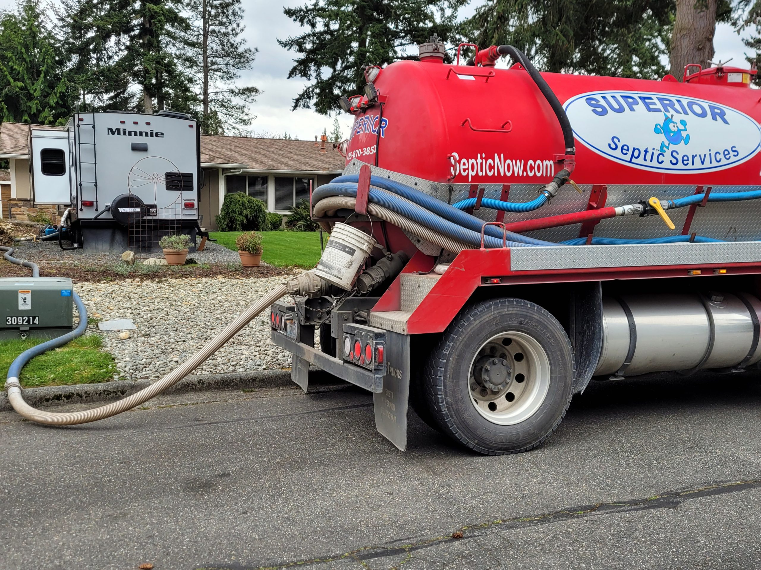 Everett Property Owners - Call Us For Septic Pumping